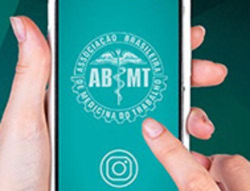 Siga-nos no Instagram: ABMT inaugura canal de contato com associados