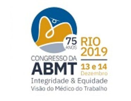 ABMT comemora 75 anos de história com congresso no Rio de Janeiro