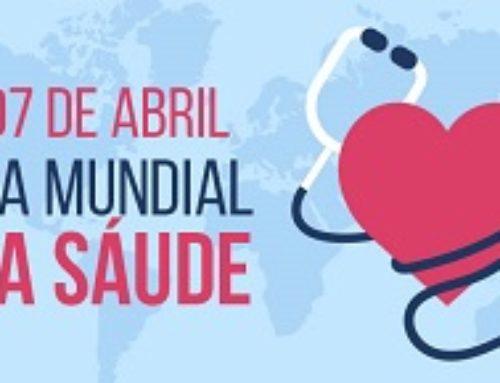 7 de abril é marcado pelo Dia Mundial da Saúde