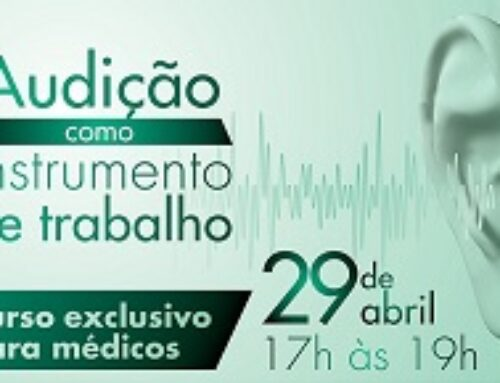 """""""Audição como Instrumento de Trabalho"""": confirme sua participação no curso"""